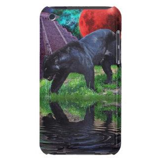 Schwarzer Jaguar-Fantasieipod-Touch-Kasten iPod Case-Mate Hülle
