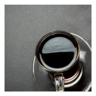 Schwarzer Kaffee 7 Poster