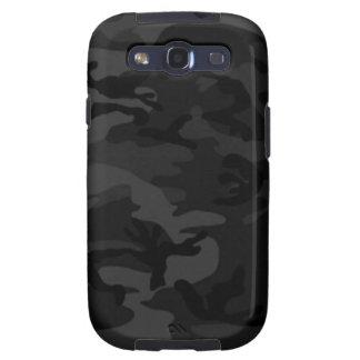 Schwarzer Kasten Camouflage-Samsungs-Galaxie-S Galaxy S3 Schutzhüllen
