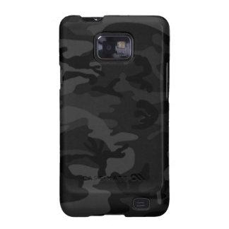 Schwarzer Kasten Camouflage-Samsungs-Galaxie-S Galaxy SII Hülle