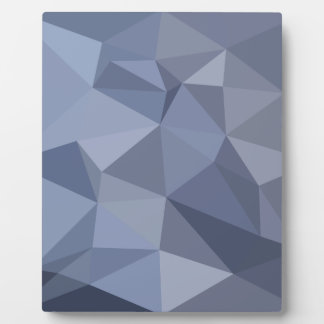Schwarzer korallenroter blauer abstrakter fotoplatte