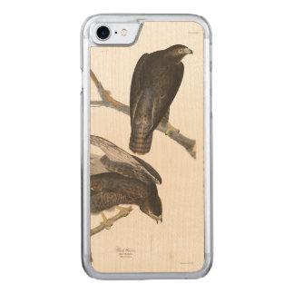 Schwarzer Krieger Audubon Platten-86 Carved iPhone 8/7 Hülle