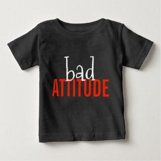 Schwarzer kundenspezifischer baby t-shirt