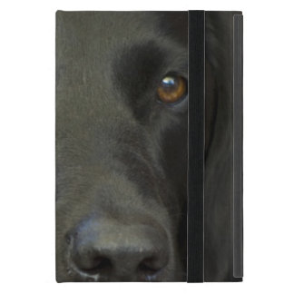 Schwarzer Labrador-Hund Hülle Fürs iPad Mini