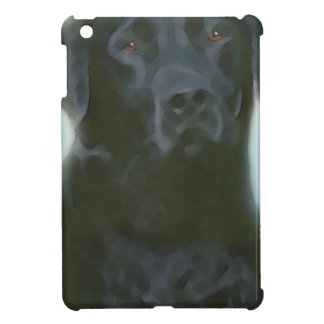 schwarzer Labrador iPad Mini Hülle