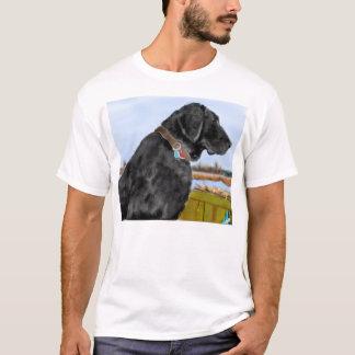 Schwarzer Labrador T-Shirt