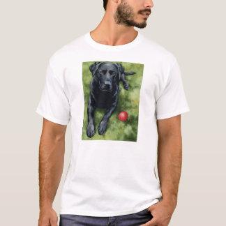 Schwarzer Labrador-T - Shirt