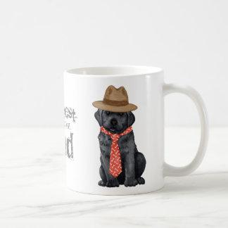 Schwarzer Labrador-Vati Kaffeetasse
