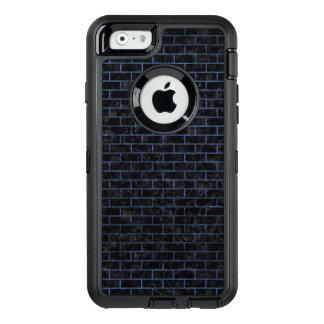SCHWARZER MARMOR BRICK1 U. BLAUER STEIN OtterBox iPhone 6/6S HÜLLE