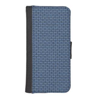 SCHWARZER MARMOR BRICK1 U. BLAUES DENIM (R) iPhone SE/5/5s GELDBEUTEL