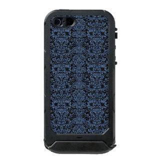 SCHWARZER MARMOR DAMASK2 U. BLAUES DENIM INCIPIO ATLAS ID™ iPhone 5 HÜLLE