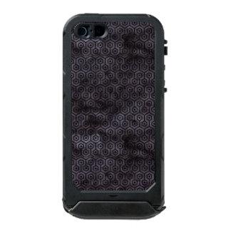 SCHWARZER MARMOR HEXAGON1 U. SCHWARZES AQUARELL INCIPIO ATLAS ID™ iPhone 5 HÜLLE