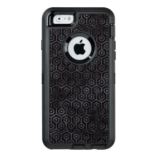 SCHWARZER MARMOR HEXAGON1 U. SCHWARZES AQUARELL OtterBox iPhone 6/6S HÜLLE