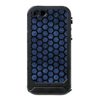 SCHWARZER MARMOR HEXAGON2 U. BLAUER STEIN (R) INCIPIO ATLAS ID™ iPhone 5 HÜLLE