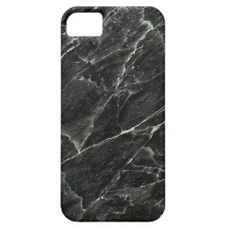 Schwarzer Marmor kaum dort iPhone 5/5S Kasten iPhone 5 Etui