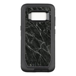 Schwarzer Marmor OtterBox Defender Samsung Galaxy S8 Hülle
