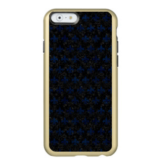 SCHWARZER MARMOR ROYAL1 U. BLAUER SCHMUTZ (R) INCIPIO FEATHER® SHINE iPhone 6 HÜLLE