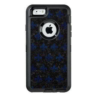 SCHWARZER MARMOR ROYAL1 U. BLAUER SCHMUTZ (R) OtterBox iPhone 6/6S HÜLLE