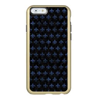 SCHWARZER MARMOR ROYAL1 U. BLAUER STEIN (R) INCIPIO FEATHER® SHINE iPhone 6 HÜLLE