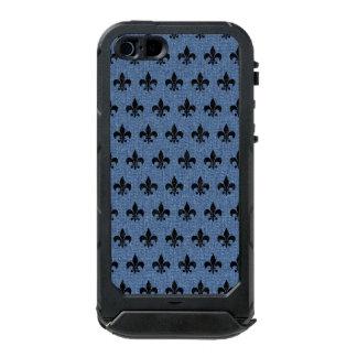 SCHWARZER MARMOR ROYAL1 U. BLAUES DENIM INCIPIO ATLAS ID™ iPhone 5 HÜLLE