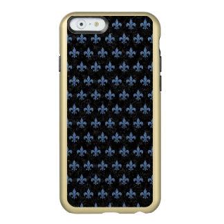 SCHWARZER MARMOR ROYAL1 U. BLAUES DENIM (R) INCIPIO FEATHER® SHINE iPhone 6 HÜLLE