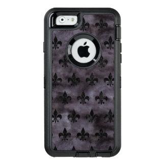 SCHWARZER MARMOR ROYAL1 U. SCHWARZES AQUARELL OtterBox iPhone 6/6S HÜLLE