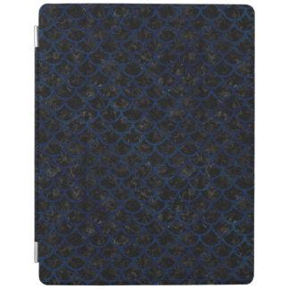 SCHWARZER MARMOR SCALES1 U. BLAUER SCHMUTZ iPad SMART COVER