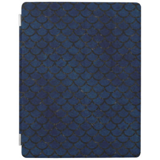 SCHWARZER MARMOR SCALES1 U. BLAUER SCHMUTZ (R) iPad SMART COVER