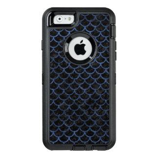 SCHWARZER MARMOR SCALES1 U. BLAUER STEIN OtterBox iPhone 6/6S HÜLLE