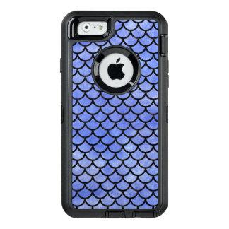 SCHWARZER MARMOR SCALES1 U. BLAUES AQUARELL (R) OtterBox iPhone 6/6S HÜLLE
