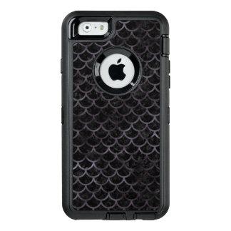 SCHWARZER MARMOR SCALES1 U. SCHWARZES AQUARELL OtterBox iPhone 6/6S HÜLLE