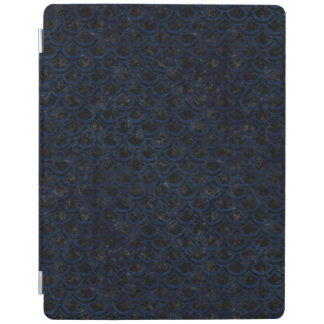 SCHWARZER MARMOR SCALES2 U. BLAUER SCHMUTZ iPad SMART COVER