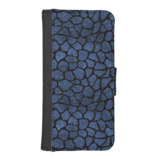SCHWARZER MARMOR SKIN1 U. BLAUER STEIN iPhone SE/5/5s GELDBEUTEL