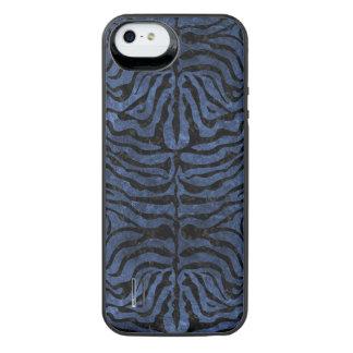 SCHWARZER MARMOR SKIN2 U. BLAUER STEIN (R) iPhone SE/5/5s BATTERIE HÜLLE