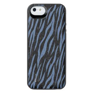 SCHWARZER MARMOR SKIN3 U. BLAUES DENIM iPhone SE/5/5s BATTERIE HÜLLE