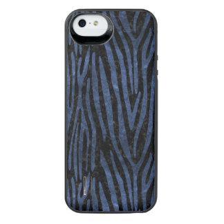 SCHWARZER MARMOR SKIN4 U. BLAUER STEIN (R) iPhone SE/5/5s BATTERIE HÜLLE