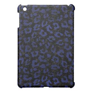 SCHWARZER MARMOR SKIN5 U. BLAUES LEDER (R) iPad MINI HÜLLE