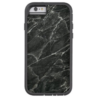 Schwarzer Marmor Tough Xtreme iPhone 6 Hülle