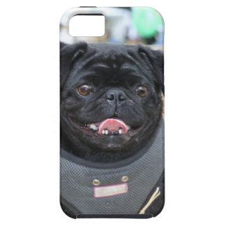 Schwarzer Mops Hülle Fürs iPhone 5