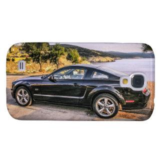 Schwarzer Mustang GT Galaxy S4 Hülle