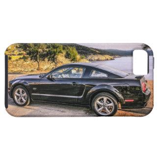 Schwarzer Mustang GT iPhone 5 Schutzhüllen