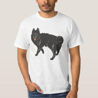 Schwarzer Norweger Elkhound T-Shirt