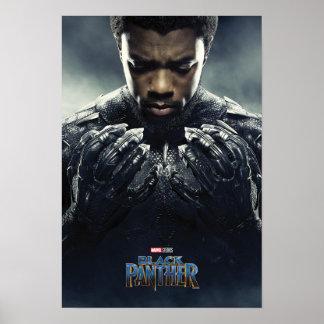 Schwarzer Panther-Charakter des schwarzen Poster