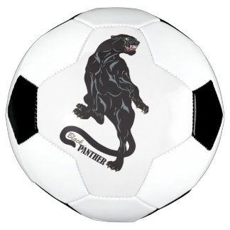 schwarzer Panther Fußball