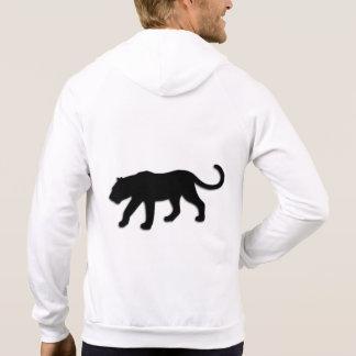 Schwarzer Panther Hoodie