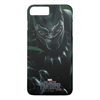 Schwarzer Panther   im Dschungel iPhone 8 Plus/7 Plus Hülle