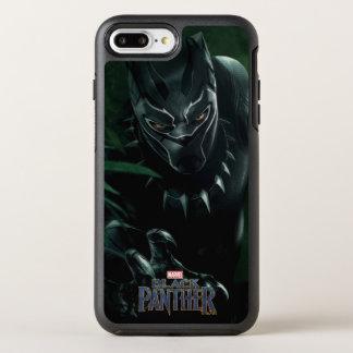 Schwarzer Panther   im Dschungel OtterBox Symmetry iPhone 8 Plus/7 Plus Hülle