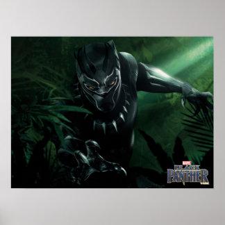 Schwarzer Panther | im Dschungel Poster