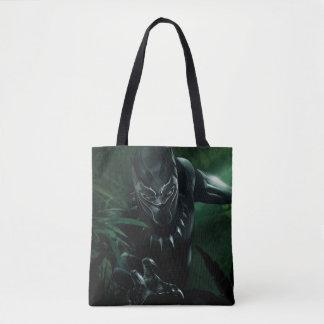 Schwarzer Panther | im Dschungel Tasche