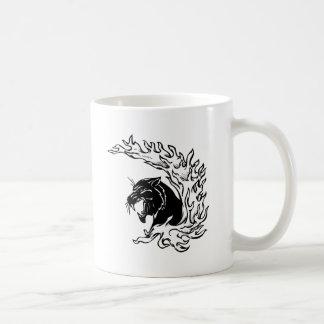 Schwarzer Panther Kaffeetasse